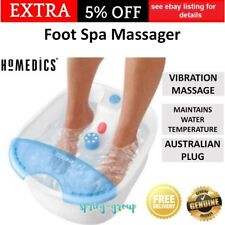 HoMedics Foot Spa Water Pedicure Feet Bath Soak Health Care Vibration Massage