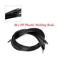 20Pcs Plastic PP Welding Rods For Plastic Welder Gun Welding Tool Universal Kit