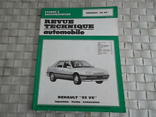 REVUE TECHNIQUE RENAULT 25 V6 INJECTION -  TURBO - LIMOUSINE