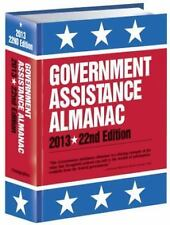 Government Assistance Almanac 2013: The Guide to Federal Domestic Fina-ExLibrary