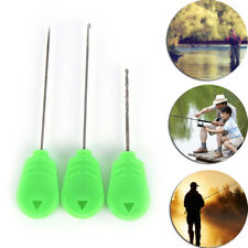 3Xcarp fishing chod hair rig making tool splicing needles boilie drill carp Wbp