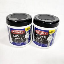 Weiman Silver Wipes Lot of 2 New 20 Count Packages Silver Gold Brass Polish