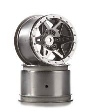ARRMA Wheel Rear RAIDER Chrome AR510041