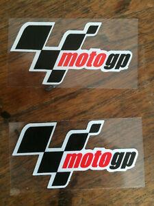 Moto GP Reflective Stickers Decals x 2