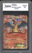 2014 Pokemon Card Charizard HOLOGRAPHIC HOLO FOIL GRADED GEM MINT 10 RARE! GO 17