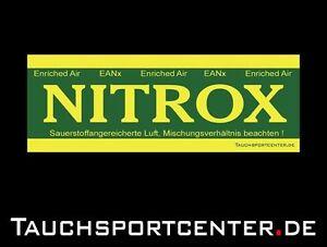 Aufkleber EAN (Nitrox) zur Flaschenkennzeichnung (5 Stk.)