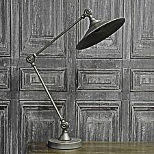 Vintage Style Industrial  Metal Table Adjustable Desk Lamp Light Retro Office