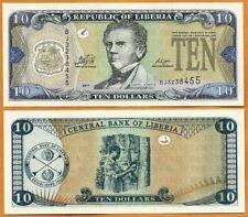 Liberia, 2011, UNC, 10 Dollars, P- 27f
