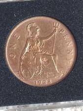 Birthday Present  90th , Unusual Gift-1928 British UK Penny birth coin