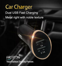 2019 New 2 iN 1 DUAL USB 12-24V BLACK BEST CAR CHARGER CIGARETTE SOCKET LiGHTER