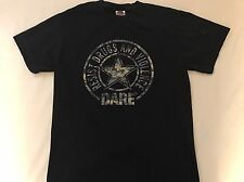 Dare To Resist Drugs And Violence T-Shirt Size Medium