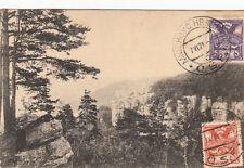 OLD POST CARD TCHECOSLAVAQUIE CZECH REP TCHEQUE muzsky mnich hrasky stamp 1931