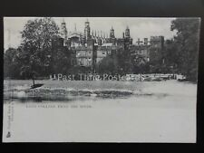 Berkshire ETON COLLEGE From The River c1902 UB by Raphael Tuck & Sons 2036