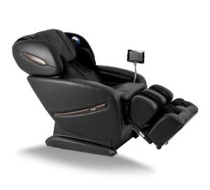 Osaki OS-PRO Alpina Massage Chair S L Track Heat Zero Gravity Recliner Black