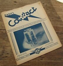 RADIO CONTACT N° 3 AVRIL MAI 1949