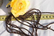 Czech Firepolish Beads 3mm 13- Dark Bronze /50pc