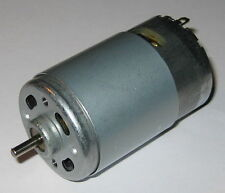 RS-550PF Motor - 12V DC - 13,500 RPM - High Power 550 Size DC Motor - High Speed