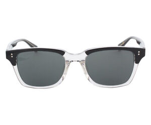 Stussy Angelo Sunglasses Lens Size OS, Color: Half Clear/Black