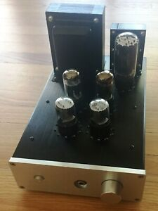 DIY OTL Tube Headphone Amp Kit (PCB, Case, Extras) WCF 6SN7, 6BX7