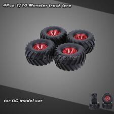 4Pcs/Set 1/10 Monster Truck Tire Tyres for HSP HPI Kyosho RC Car Hot RM76