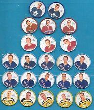 1960-61 SHIRRIFF SALADA NHL HOCKEY COIN 60-61 COINS 1-120 SEE LIST