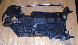 1999 50hp (4-STROKE)(4 CYL.) Mariner outboard  electric starter bracket
