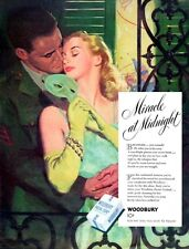 Marine Masquerade Alex Ross Woodbury Soap MIRACLE AT MIDNIGHT 1945 Magazine Ad