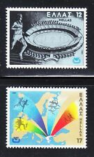 Greece 1981 Mnh Mi 1447-1448 Sc 1388-1389 European Athletic Championship