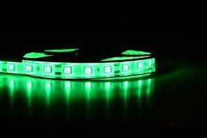 LED Stripe Leiste Grün 5 12V 5050 60/m SMD IP65/Wasserdicht