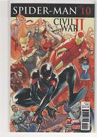 Spiderman #10 Civil War II Brian Bendis Miles Morales 9.6