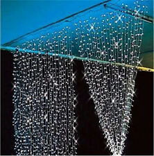 9.8ftx6.6ft 224LED Christmas String Fairy Wedding Curtain Lights Warm Cool White