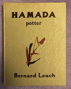 SHOJI HAMADA - POTTERY - 1st ed. (1975) RARE in JACKET - SCARCE MINGEI FOLK ART