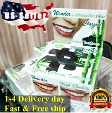 ❤️ USSELLER 25g Bamboo Charcoal Toothpaste,Teeth Whitening,Herbal,100%Natural
