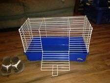 My First Home Blue Hamster, Snake, Tortoise, Rabbit Cage Pet