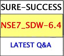 NSE7_SDW-6.4 EXAM Q&A -Fortinet NSE 7 - SD-WAN 6.4-LATEST