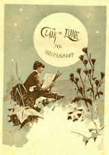 Guy de Maupassant : CLAIR DE LUNE - 1883. Edition Originale, suites