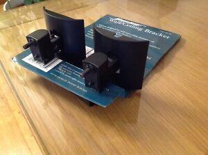 Pair Bose UB20 Acoustimass Lifestyle Surround Sound Cinema Speaker Wall Brackets