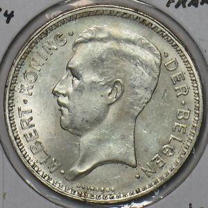 Belgium 1934 20 Francs 491070 combine shipping