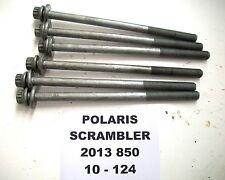POLARIS 2013 SCRAMBLER 850 4X4 ATV CYLINDER HEAD BOLTS BOLT 10-124