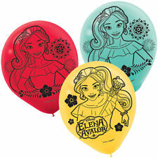 Latino Princess Elena of Avalor Latex Balloon Birthday Party Supplies Decoration