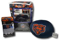 NFL Chicago Bears MicroFiber Twin Comforter, 3-Piece Sheet Set, and Plush Pillow