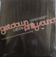 """DIMITRI FROM PARIS ~ Get Down With The Philly Sound 1/4 ~ GF 2 x 12"""" Single PS"""