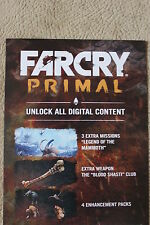 DLC from Far Cry Primal Collector's Edition for PC Uplay
