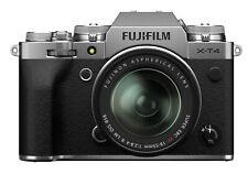 Fujifilm X-T4 26,1MP Fotocamera Mirrorless - Argenta (Kit con XF 18-55mm f/2.8-4 Obiettivo)
