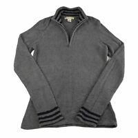 Exofficio Womens 1/4 Zip Soft Fleece Mock Neck Pullover Sweater Size Small