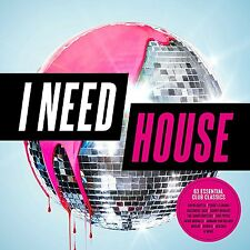 I NEED HOUSE (Various Artists) 3 CD SET (2017)