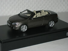 VW Eos schwarz oak braun metallic 1:43 VW/Kyosho neu & OVP 1Q1.099.300.B8R