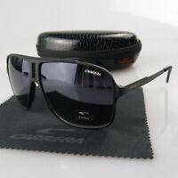2019 Men Women Retro Sunglasses Unisex Square Matte Frame Carrera Glasses LH05