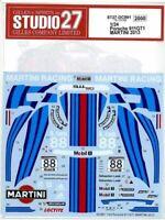 STUDIO27 1/24 Porsche 911GT1 MARTINI 2013 for Fujimi DC991 Decal New F/S