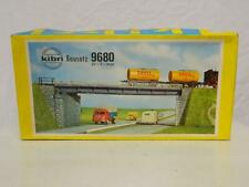 Kibri HO Gauge Plastic Model Kit Girder Bridge Box 9680
